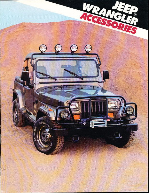 800 jpeg 137kb 1988 jeep wrangler accessories sales brochure catalog. Cars Review. Best American Auto & Cars Review