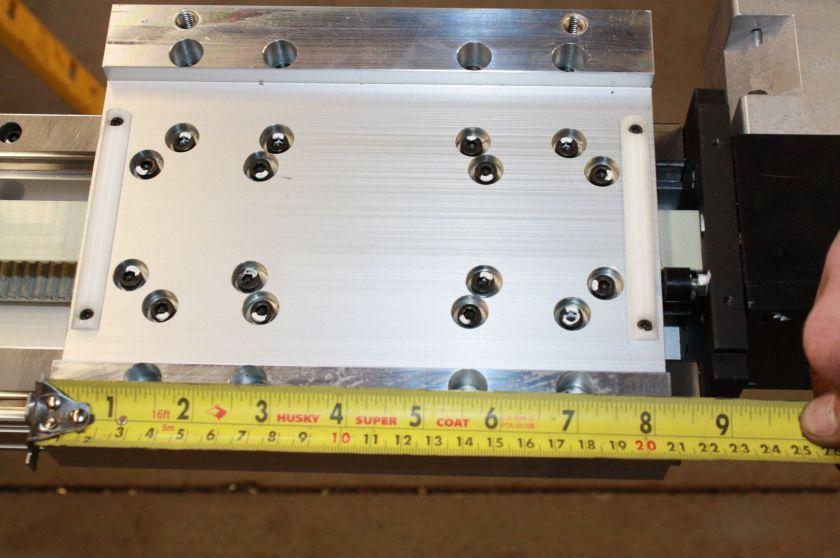 THK GL20N SHS20 Linear Belt Driven Actuator 2675L Linear Guide Rail