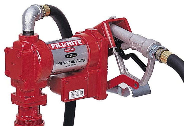 Fill Rite 35GPM Super Hi Flow AC Pump 115 Volt (FR310V)
