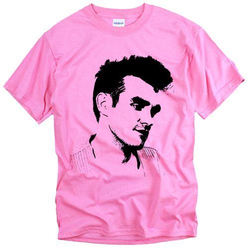 NEW Morrissey Head retro punk Smiths rock t shirt